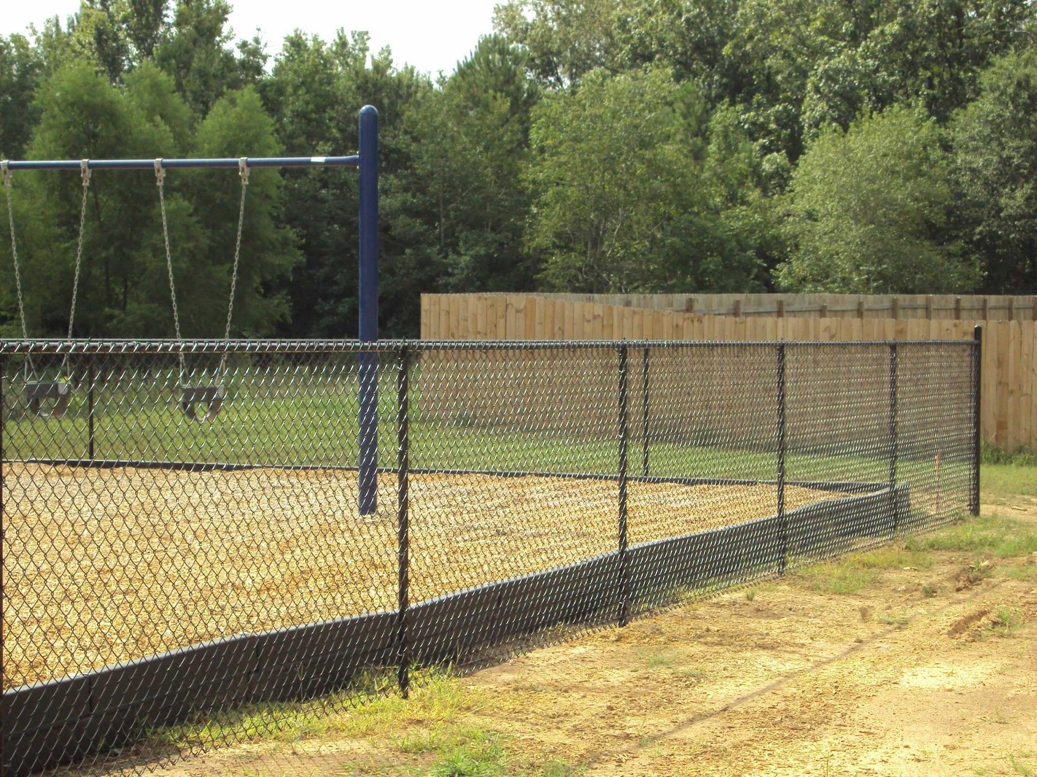 mercial chain link fencing birmingham al fence services