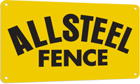 all steel fence logo