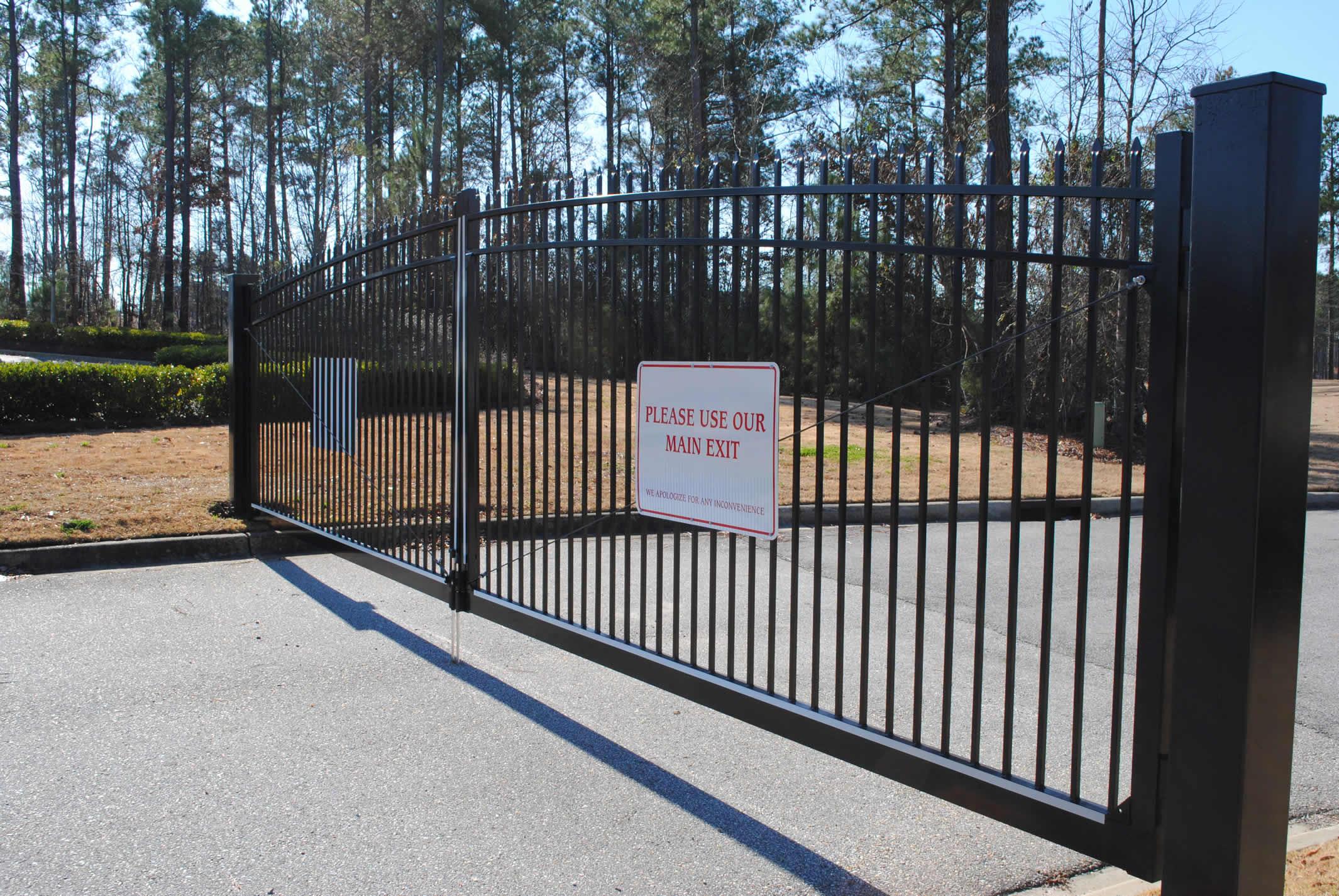 Residential Ornamental Fences Birmingham Al Allsteel Fence