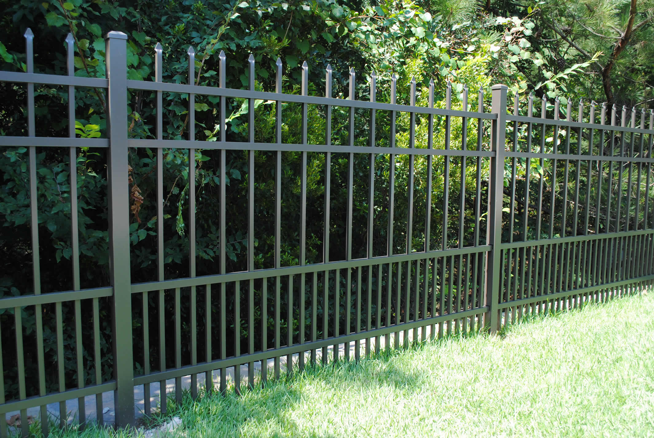 Commercial Ornamental Fence Birmingham Al All Steel Fence