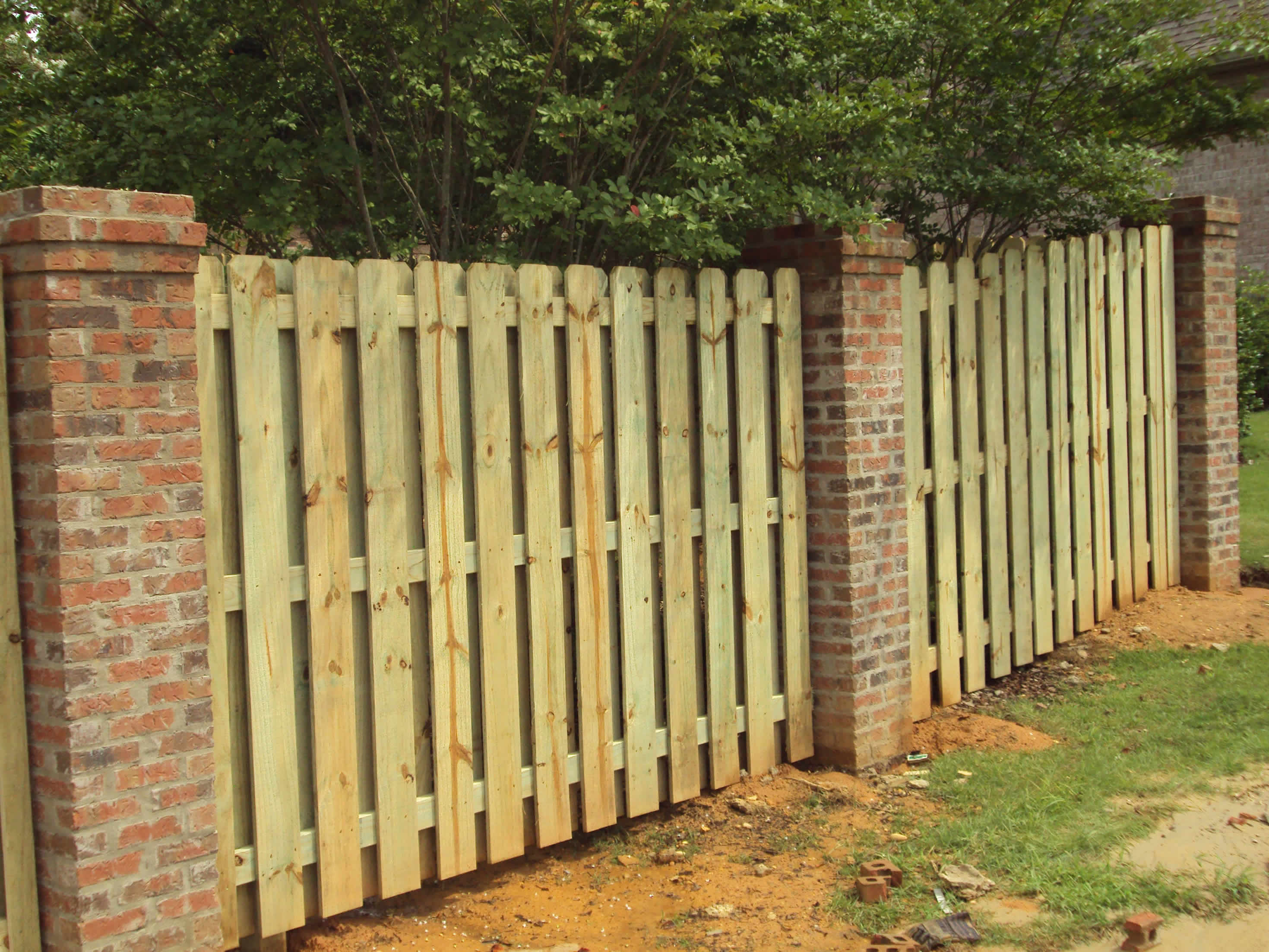 Residential Wood Fence Birmingham Al All Fence Place