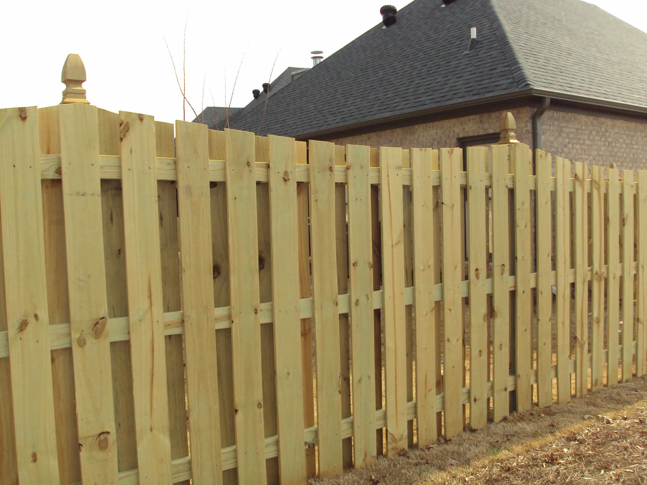 Wood Fencing Birmingham Al Fence Contractor