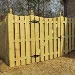 Residential Wood Fence in Birmingham, AL