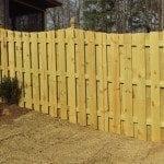 Residential Wood Fence in Birmingham, AL