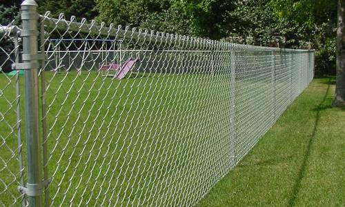 Residential Chain Link Fence in Birmingham AL