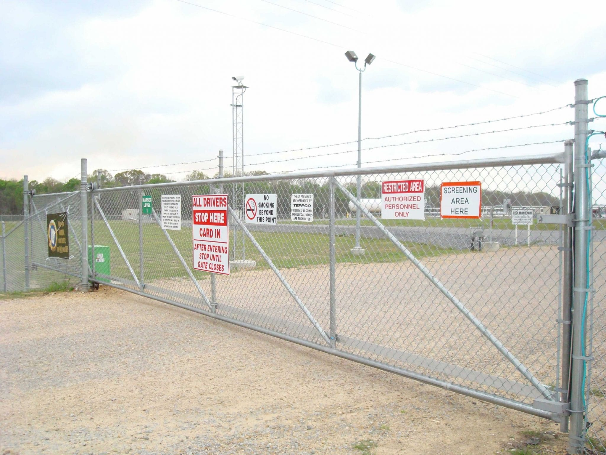 Chain Link Fence Birmingham Al Fence Services Allsteel