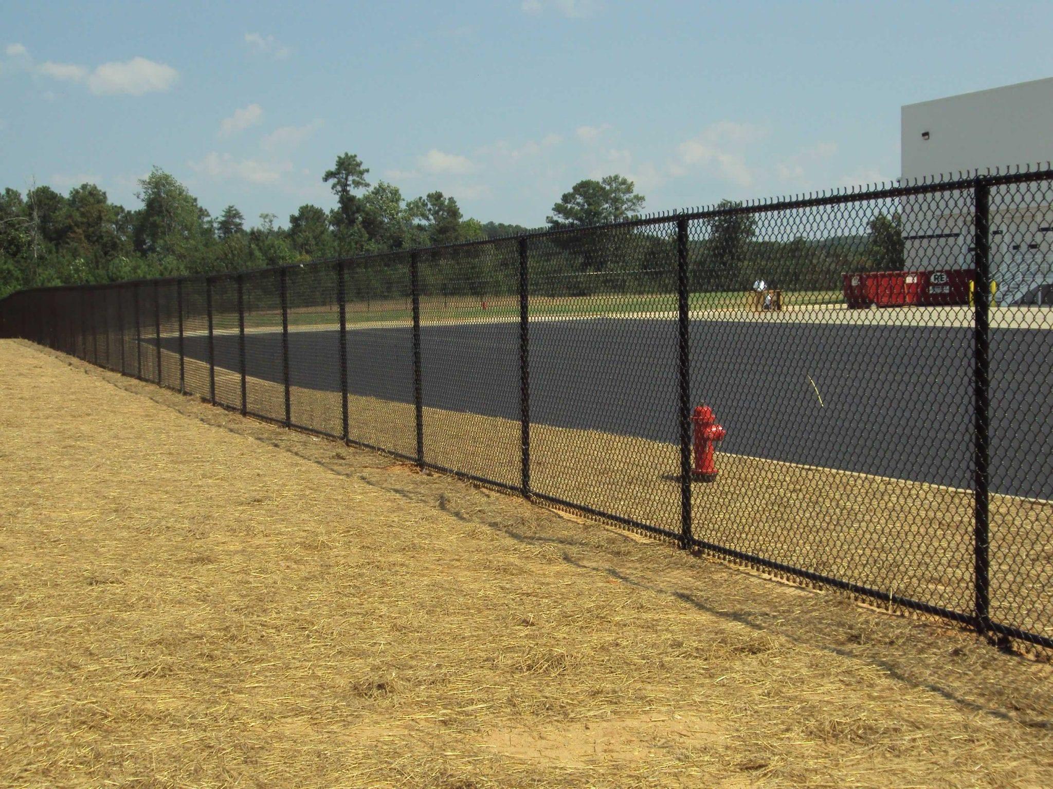 Chain Link Fence Birmingham Al Fence Services Allsteel
