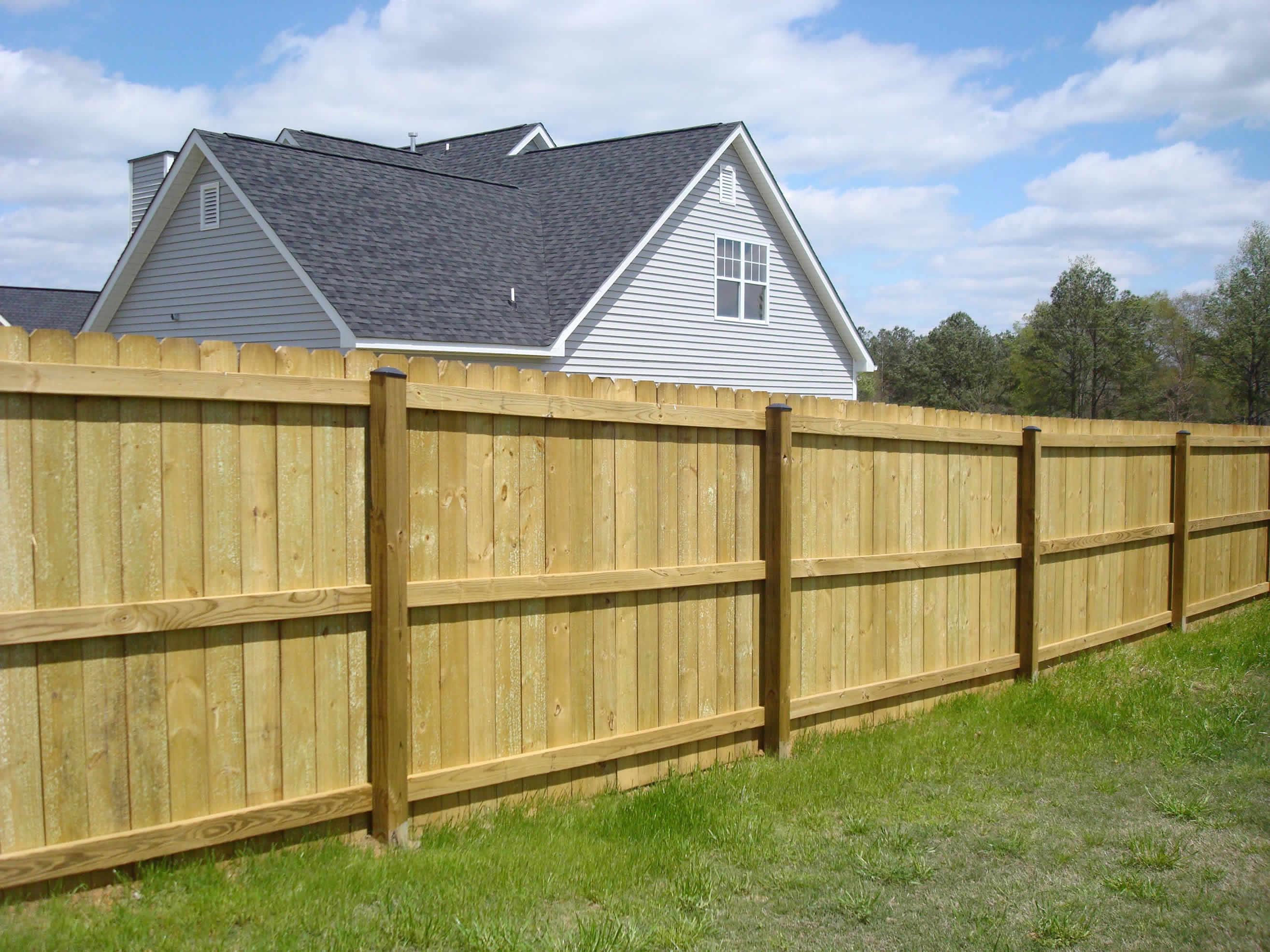 Residential Wood Fencing Birmingham AL | AllSteel Fence