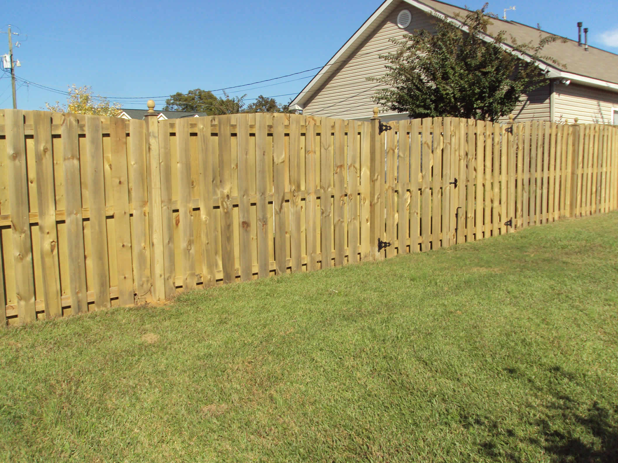 Wood Fence Birmingham Al Residential Roofing Services