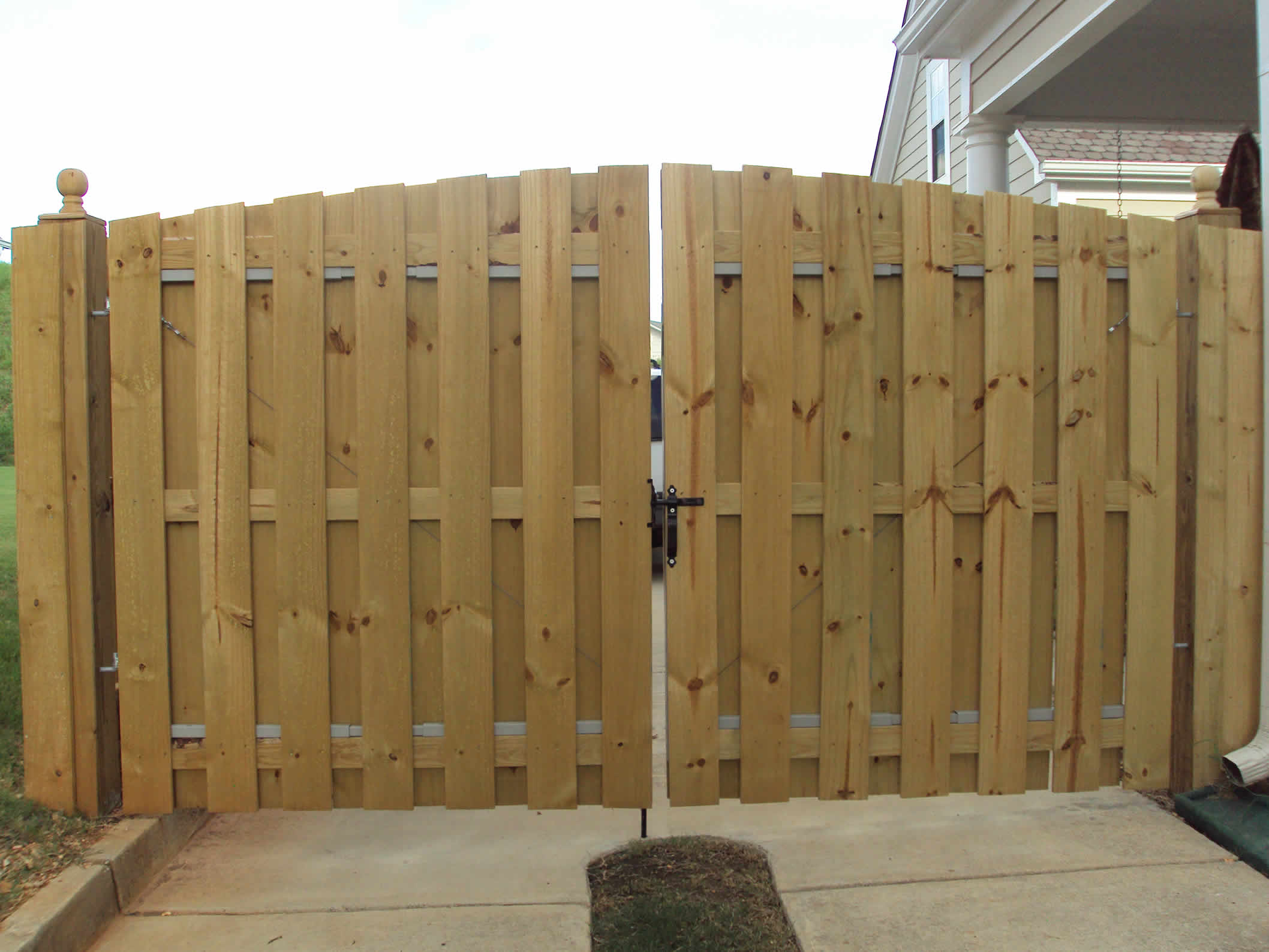 Residential Wood Fencing Birmingham Al Allsteel Fence