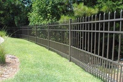 Metal fence Security Metal Fencing Company In Birmingham Al Carpenter Fence Metal Fence Company Birmingham Al Allsteel
